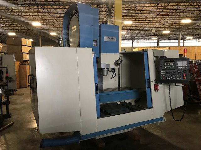 Johnford SV 45 H CNC MILL, CAT-50, 6,000 RPM 3 Axis