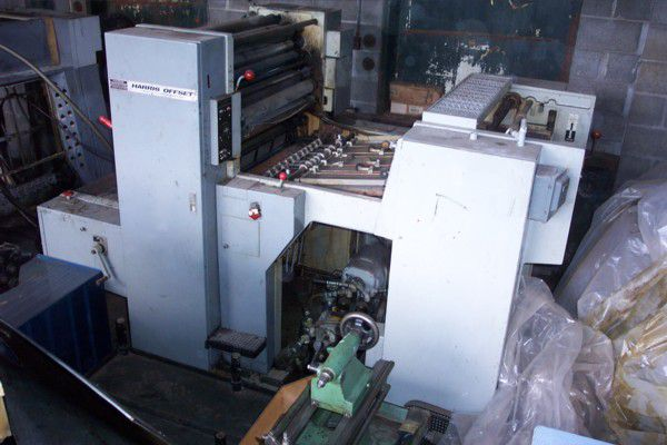 Harris L129B, 1 color Offset machine 24 X 29 In