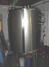Bibbys of Halifax Stainless Steel Storage Tank