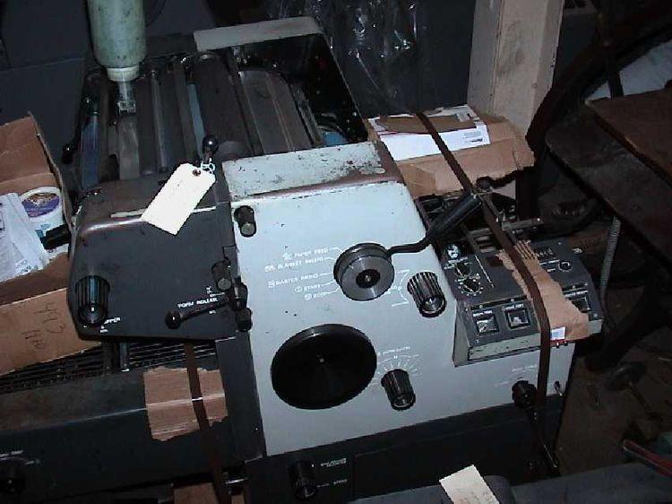 Toko 4700 CD, 1 color Offset machine
