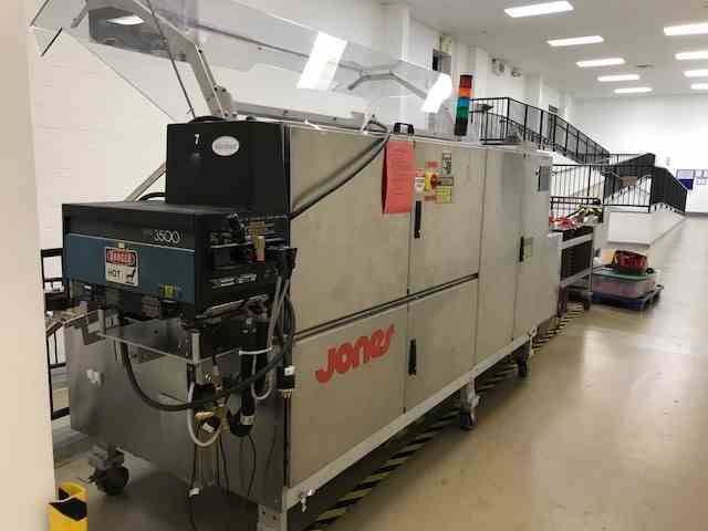 Jones Legacy Horizontal Automatic Load Cartoner