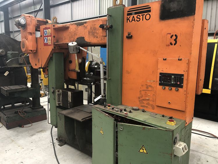 Kasto 550 Engine Lathe semi automatic