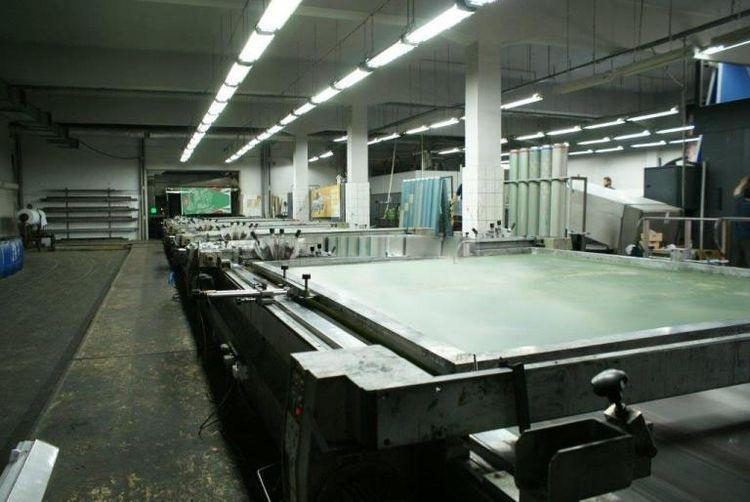 Buser F 2490 / 16 / 6L Hydromag S - VC 220 Cm Screen printing machine