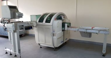 Others AUTOMAC 45 А х B x H : 430, 260, 200 max. Stretch Wrapping Machine