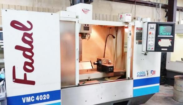 Fadal VMC-4020HT with Rotary 5 Axis