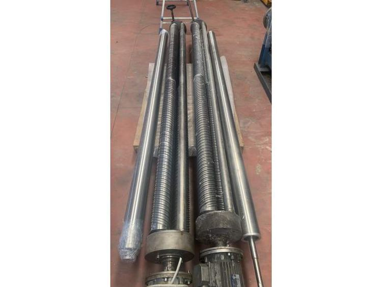 2  Expanding rolls group of 2 cylinders inox