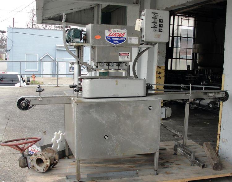 3400 Capping Machine inline capper