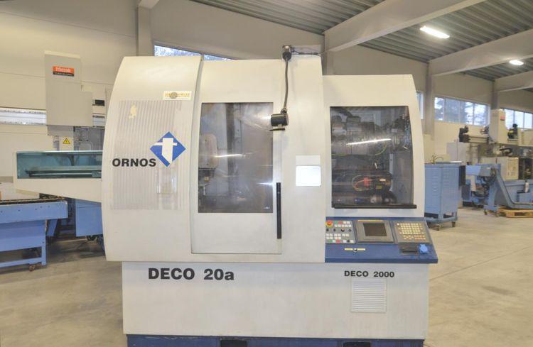 Tornos PNC DECO FANUC 10000 rpm DECO 2000-20a/26a 10 Axis