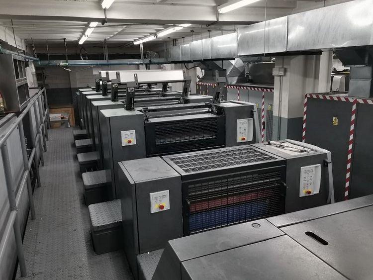 Heidelberg XL 75-5+L(X2) F UV Axis Control 60,5 x 75 cm