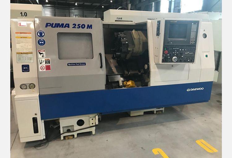 Daewoo CN FANUC 18T 3500 rpm PUMA 250 M 2 AXIS
