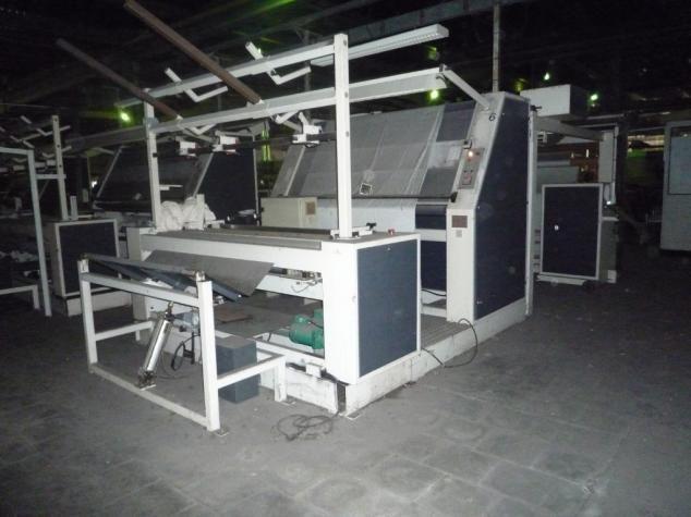 Icbt VT 320, Inspection & Rolling Machine