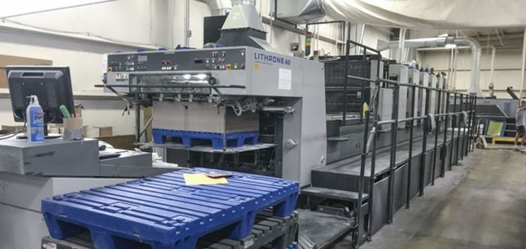Komori Lithrone L640P+CX