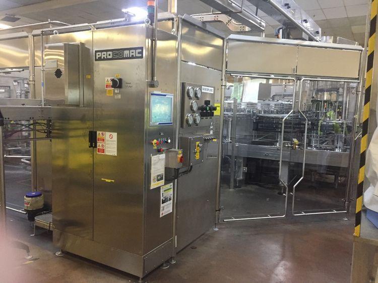 Procomac Fillstar FX-PET2-EXCEL Bottling line