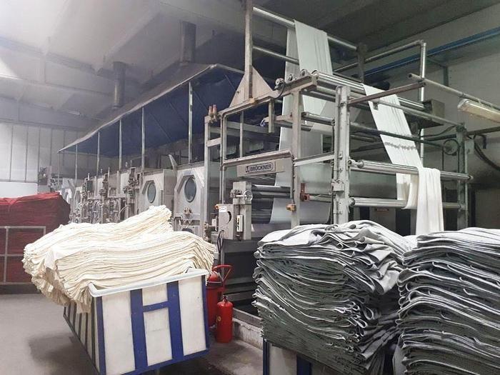 Brückner Erbach Continuous Washing Machine