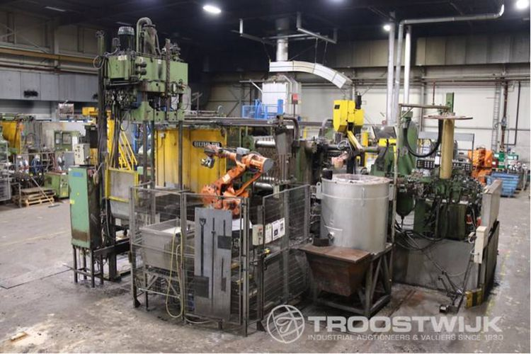 10 Aluminium Injection Moulding Machines