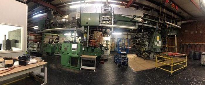 "Kidder Cylinder printing press 8 55"""