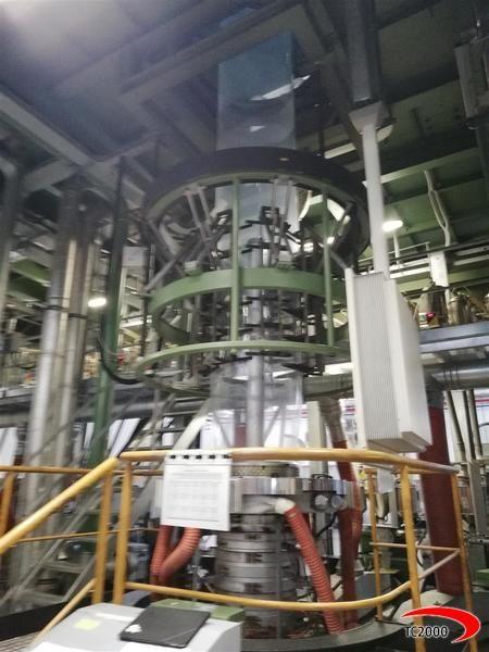 Reifenhauser Film blowing machine