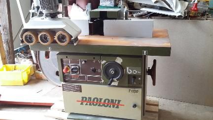 Paoloni T1200, Spindle