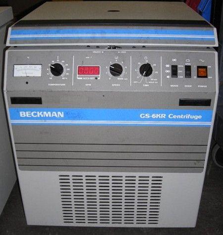Beckman GS 6KR Kneewell, Refrigerated Centrifuge
