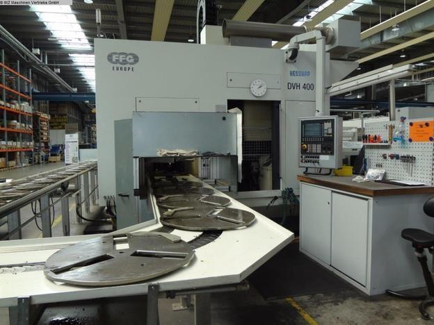 Hessapp DVH 400 Vertical Turning Machine