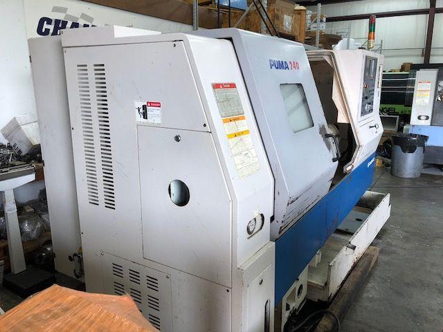 Doosan FANUC i SERIES CNC CONTROL Max. 4500 rpm PUMA 240B 2 Axis