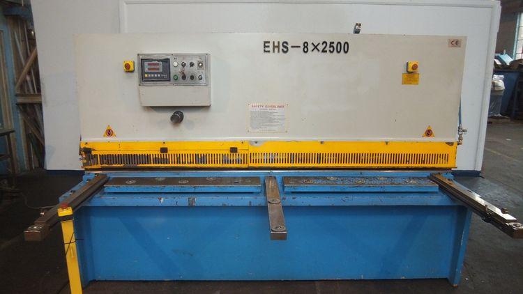 Excel EHS 8×2500 Hydraulic Guillotine Shear