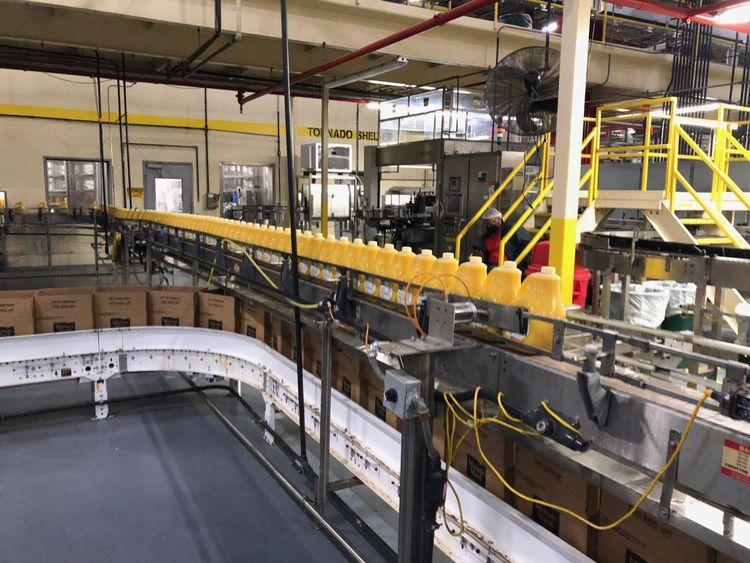 7.5 Inch Bottle Conveyor