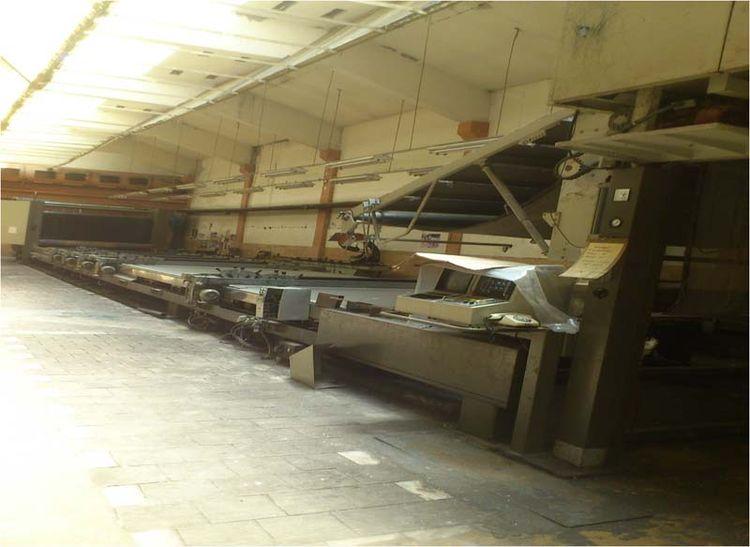 Buser Hydromeg 5-V Film Druck Printing Machine