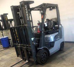 2 Nissan Forklifts CF50LP 5000