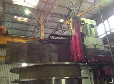 Schiess 4 VKE 500/1100 CNC Vertical Boring Mill