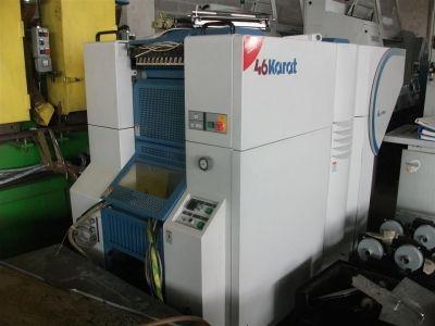 KBA Karat 46, digital press  46 x 32 cm