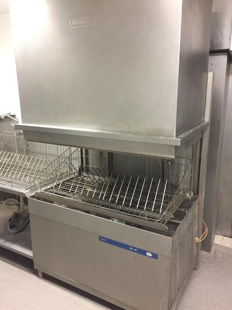 Hobart UXTLHS-1 professional utensil-washer