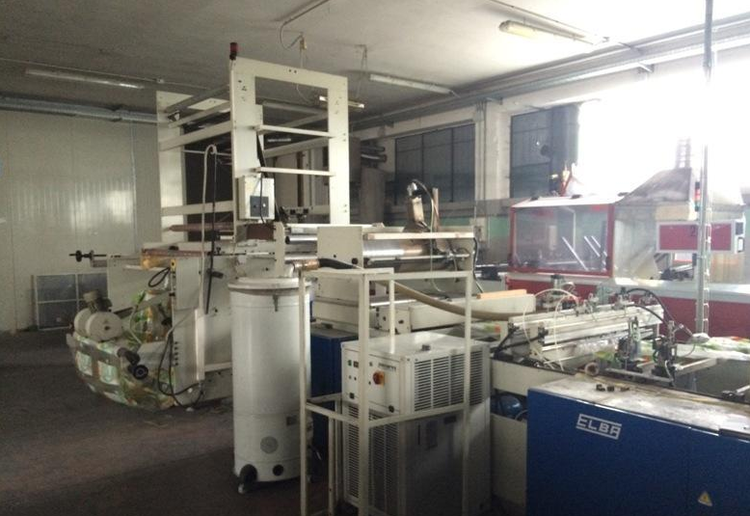 Elba SW 97 09 800 MPW 16 Bag making machine