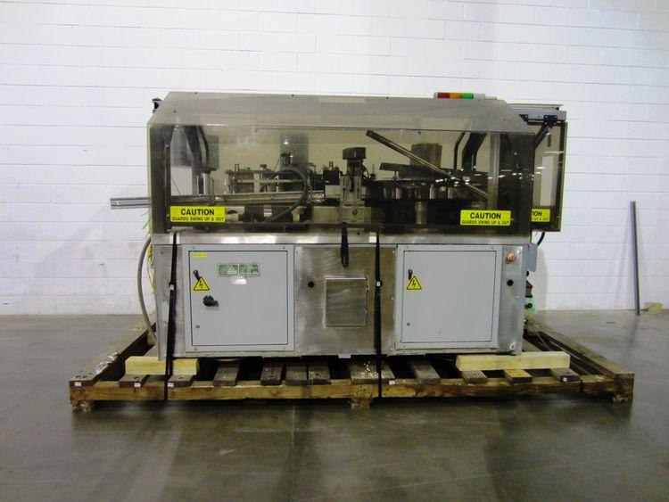 Trine 4700 Roll fed hot melt glue labeler