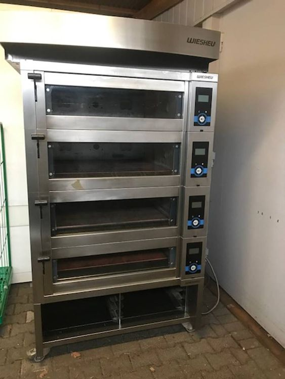 Wiesheu Ebo 86-S-Backofen Deck oven