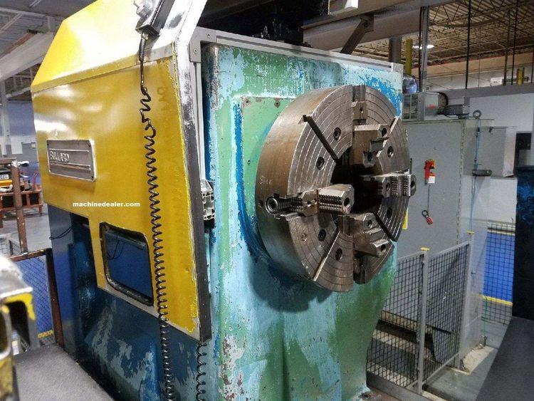 Bullard Allen Bradley 9 Control Max. 400 rpm 9272 Uniturn 2 Axis