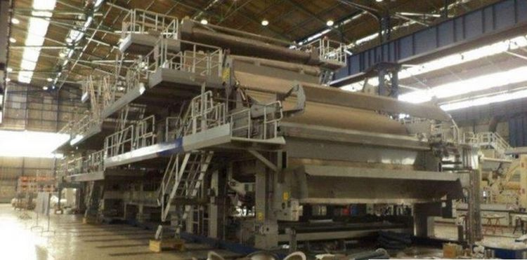Voith Atmos type - high quality tissue paper machine, NEW AS NEVER INSTALLED 5.400 mm trim 16-25 gsm 240 ADMTPD,  2,000 m/mn design speed