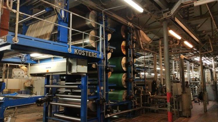 Kusters Pad Steam Dyeing Range