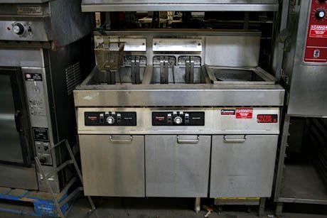 Frymaster Gas Triple Electric Fryer