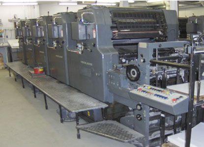 Heidelberg MOF, 5 Colors Offset Machine