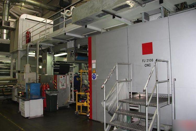 Comexi FJ 2108 CNC, Flexo press 8 1270 mm