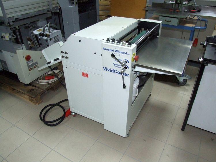 Graphic Whizard XDC 530 UV varnish coater