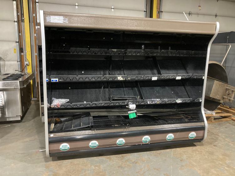 Hussmann D5X-8LEP Refrigerated Multi Deck Grocery Display Case