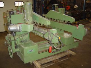 VAN LIER Double end tenoner