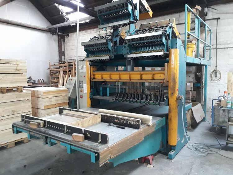 WEIMER NM 2000-36 / M4 Pallet nailing machine