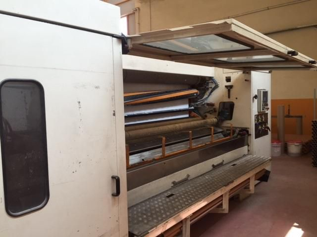 Perini 2700 mm type compact store TR & KTW rewinder with lamination, incl. Wrapper, AS NEW .. direct factory sale.