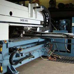 W.A. Whitney 3400 RTC CNC Control