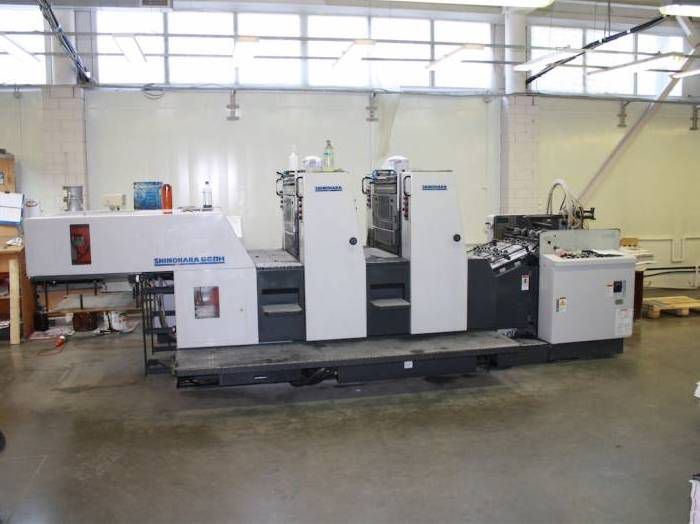 Shinohara 66II, Sheetfed offset machine 2 66 x 48 cm