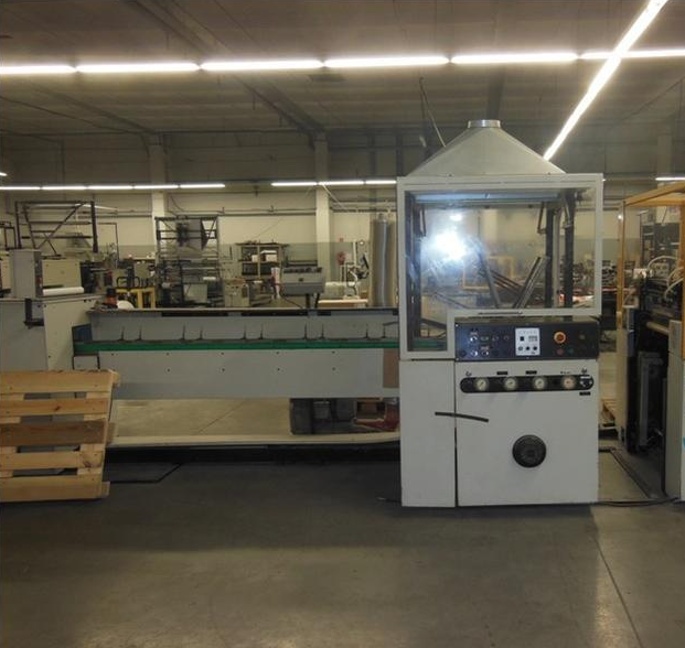 Lemo Intermat 600 Bag making machine