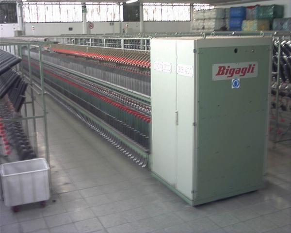 2 Bigagli NOVAFIL BR/400 T1 Fancy yarn twisting machines